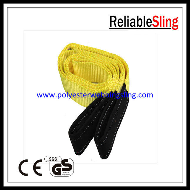 EN1492-1 3T Flat Webbing Sling for high capacity lifting / pulling
