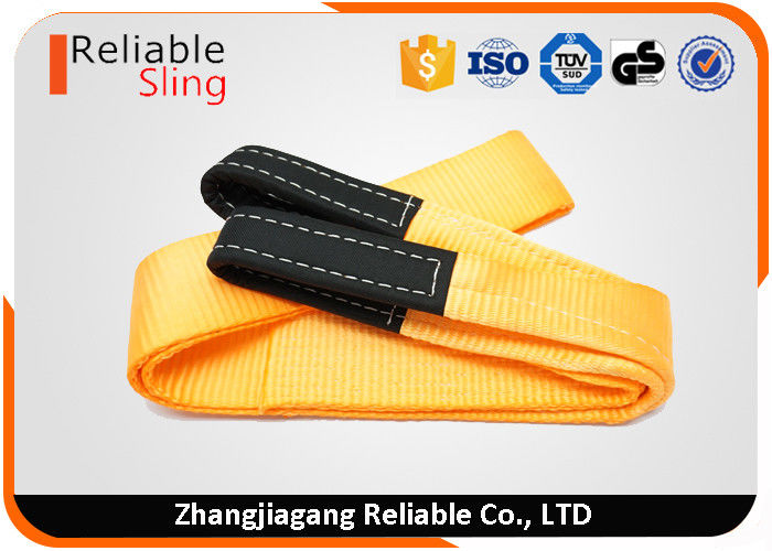 4 Inch 15000 LBS Orange Heavy Duty Tow Straps Vehicle Recovery Straps 100% polyester